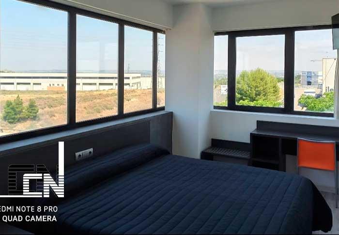 habitacion de lujo en hotel en Lleida